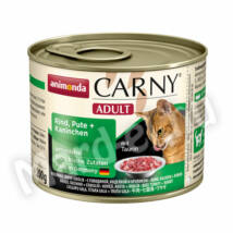 Animonda Carny Adult cica ko. marha-pulyka-nyúl 200g