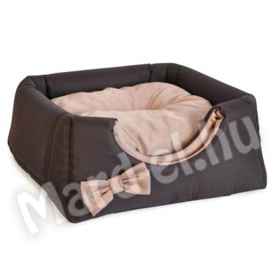 Comfy Lola trio ház barna-bézs 43x43x39cm
