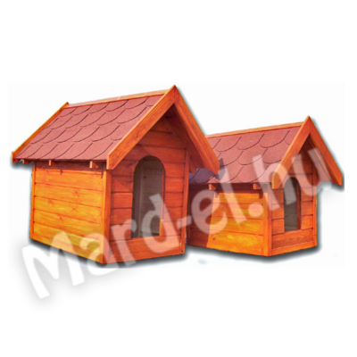 Kutyaház 1 nyeregtetős 40x55cm