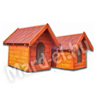 Kutyaház 2 nyeregtetős 50x70cm