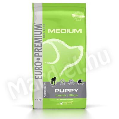 Euro Premium Medium Puppy Lamb&Rice 12kg