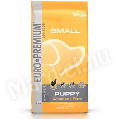 Euro Premium Small Puppy Chicken&Rice 12kg