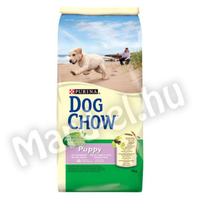 Purina Dog Chow puppy bárány-rizs 14kg