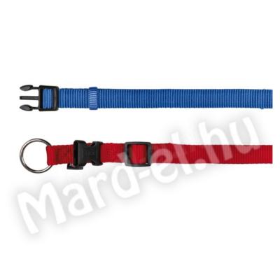 Trixie Nyakörv Premium XXS-XS 15-25cm/10mm kék 20212