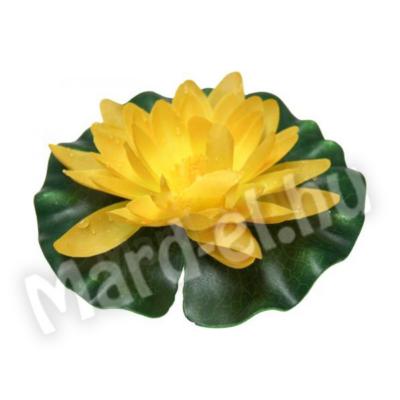 Ubbink Selyemvirág, tavirózsa sárga 14cm