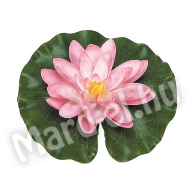 Ubbink Selyemvirág, tavirózsa rózsaszín 14cm
