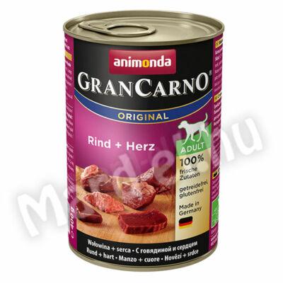Animonda GranCarno adult kutya ko. marha+szív 400g