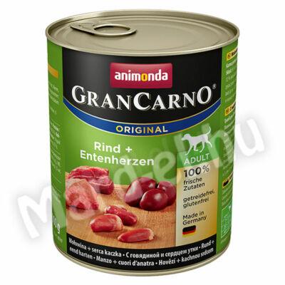 Animonda GranCarno adult kutya ko. marha+kacsaszív 800g