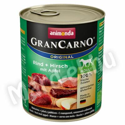Animonda GranCarno adult kutya ko. marha+szarvas almával  800g