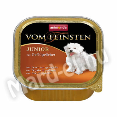 Animonda Vom Feinsten junior kutya ko. baromfimáj 150g