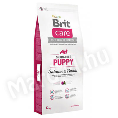 Brit Care Puppy Salmon & Potato 12kg