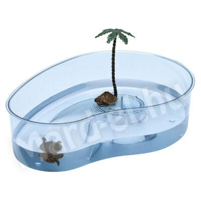 Ferplast Arricot teknőstál műanyag, vese alakú