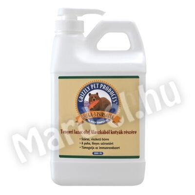 Grizzly Pet tengeri lazac olaj 2000ml