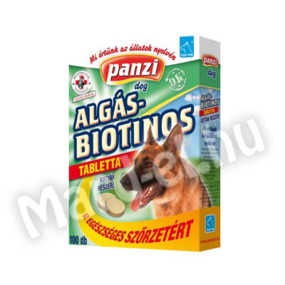 Panzi Cani-tab algás-biotinos tabletta 100db