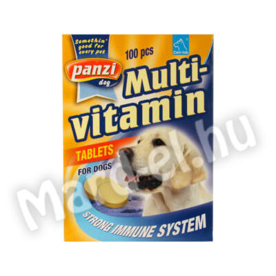 Panzi Cani-tab multivitamin tabletta 100db