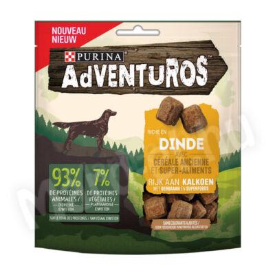 Purina Adventuros pulykában gazdag kutya jutalomfalat 90g