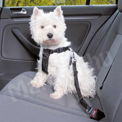 Trixie Biztonsági öv + hám kutyáknak S 30-60cm 1290