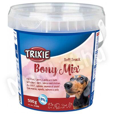 Trixie Jutalomfalat Bony Mix marha-bárány-lazac-csirke 500g 31496