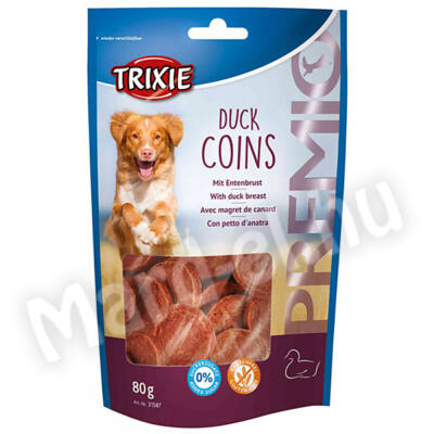 Trixie Premio Kacsa Érmék kutyáknak 80g 31587