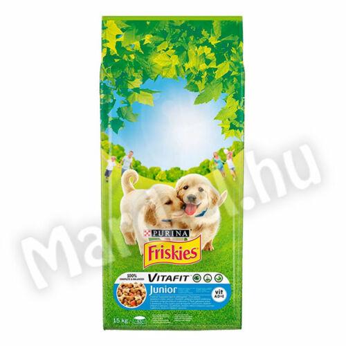 Friskies Junior száraz kutyatáp 15kg