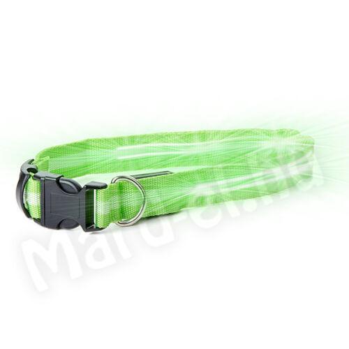 JK Nyakörv LED 40-48cm zöld 40901-2