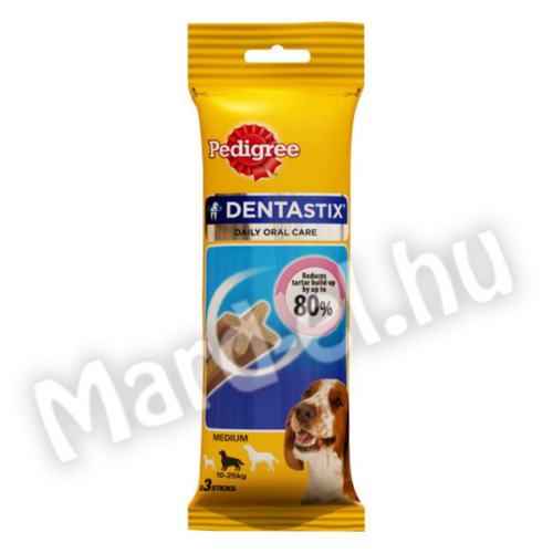 Pedigree Dentastix medium 10-25kg 77g/3db