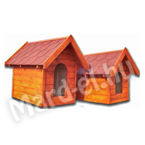 Kutyaház 3 nyeregtetős 60x85cm