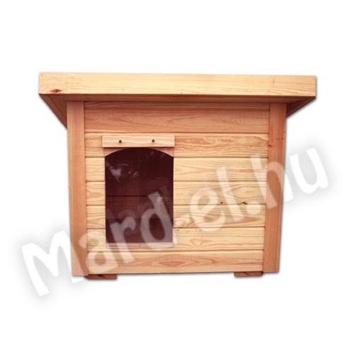 Kutyaház 2 lapos tetővel 50x70cm