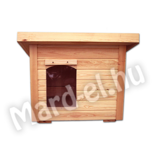 Kutyaház 3 lapos tetővel 60x85cm