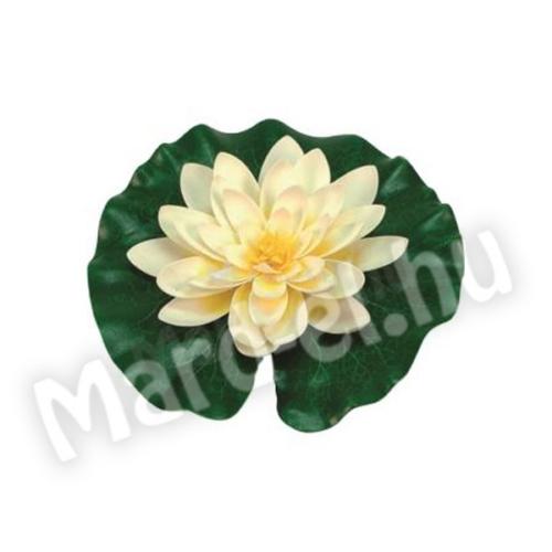 Ubbink Selyemvirág, tavirózsa fehér 14cm