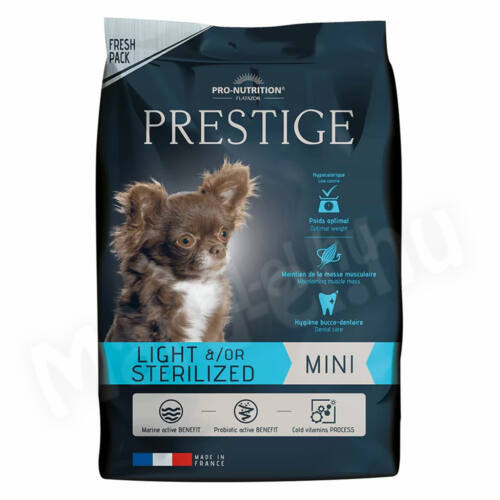 Flatazor Prestige Mini Light &/or Sterilized 3kg