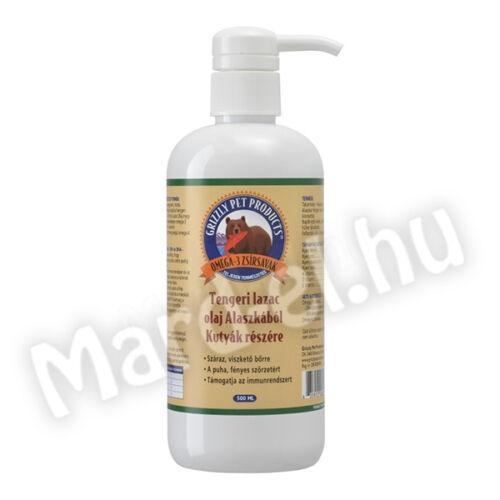 Grizzly Pet tengeri lazac olaj 500ml