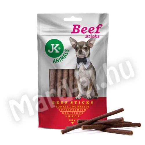 JK Snack rudacskák kutyáknak marhahúsos 80g 44972
