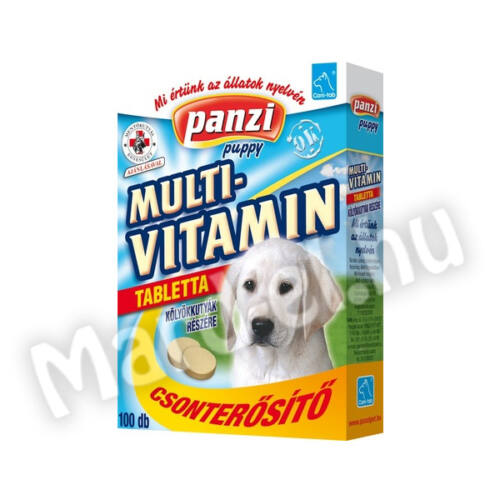 Panzi Cani-tab Puppy miltivitamin tabletta kölyökkutyának 100db