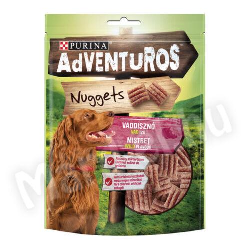 Purina Adventuros Nuggets vaddisznó ízű 90g