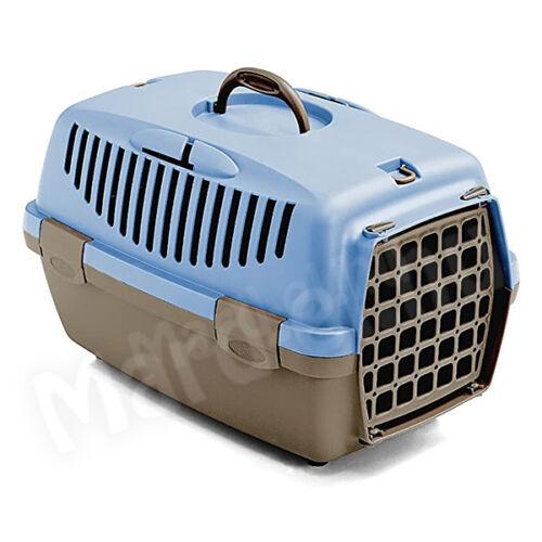 Stefanplast Gulliver 1 szállítóbox 48x32x31cm kék/barna 97286