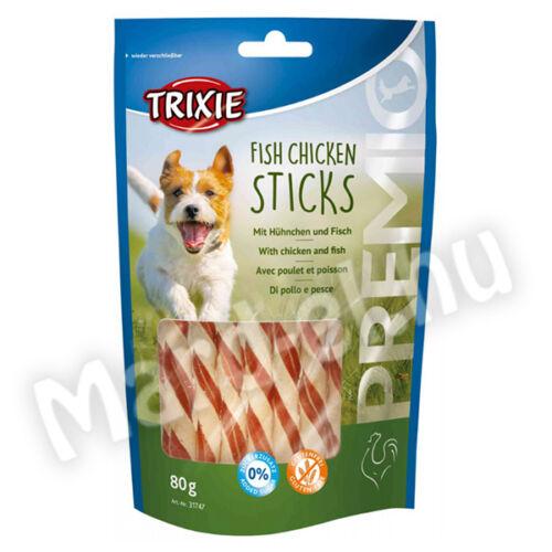 Trixie Premio Pálcikák kutyáknak hal-csirke 80g 31747
